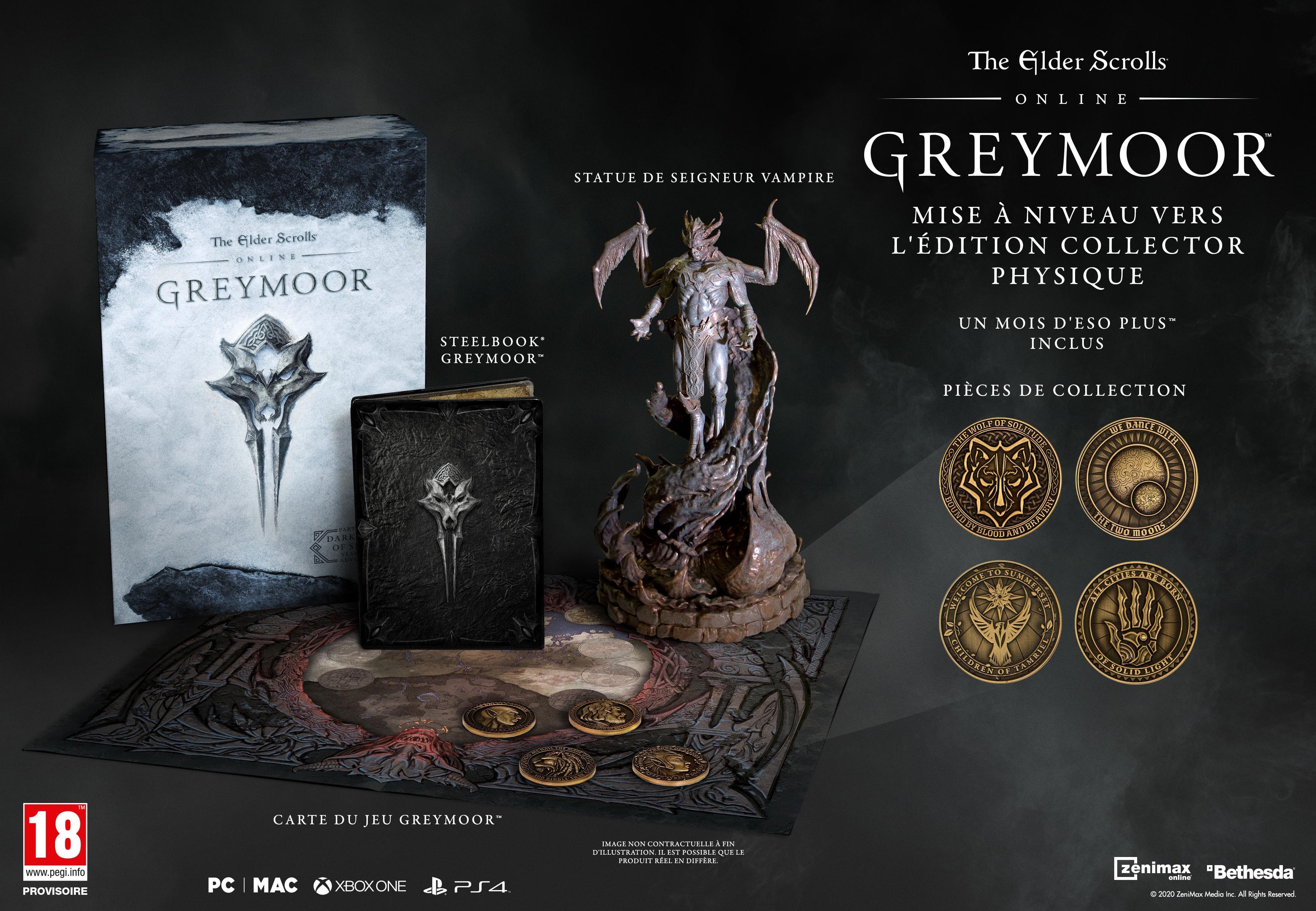 édition collector physique teso greymoor