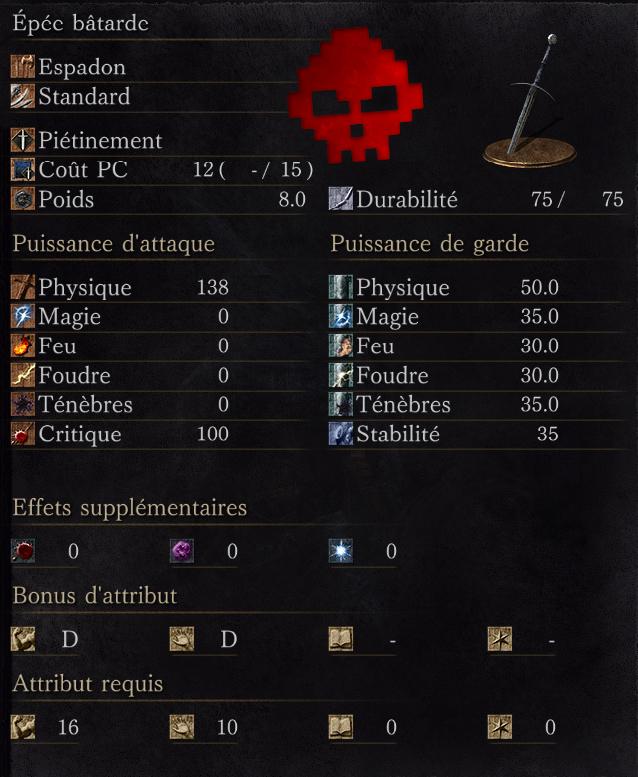 Épée Bâtarde