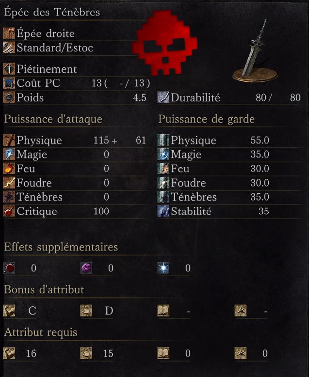 Épée des Ténèbres