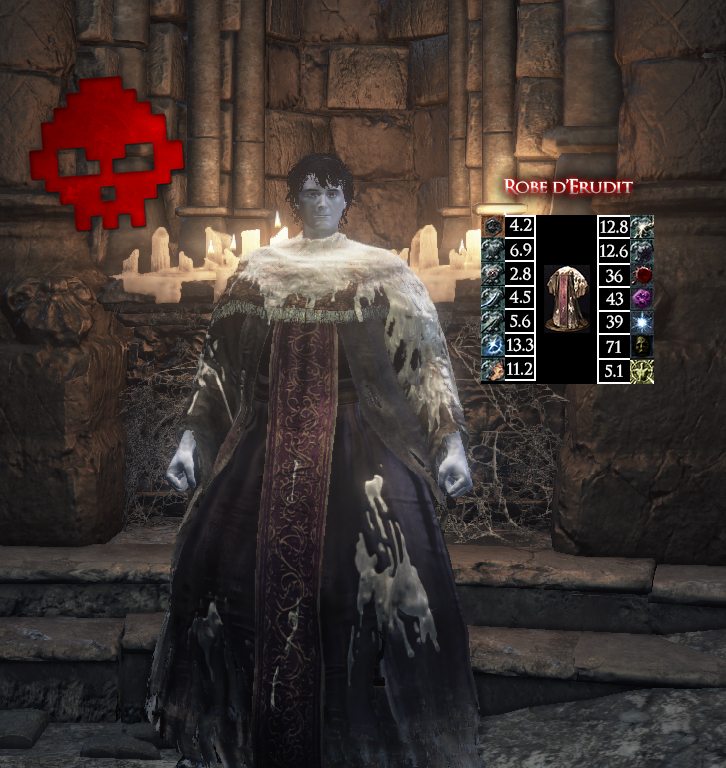 Érudit Dark Souls III WAR LEGEND copie