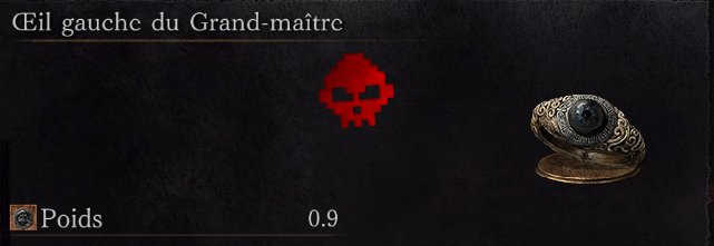 Guide Dark Souls III - Tous les anneaux œil gauche du grand-maître