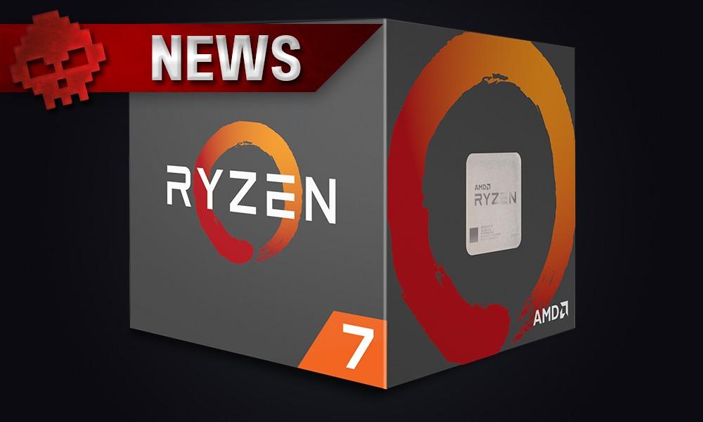 Boite du processeur AMD Ryzen 7
