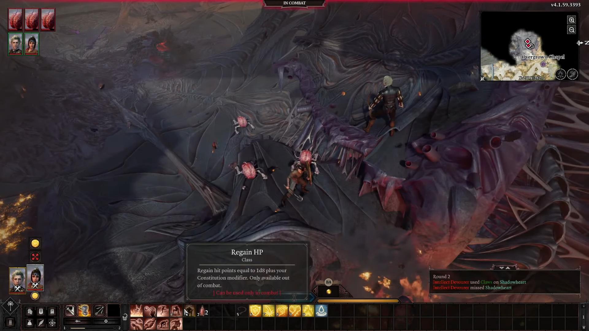 Combat Baldur's Gate 3