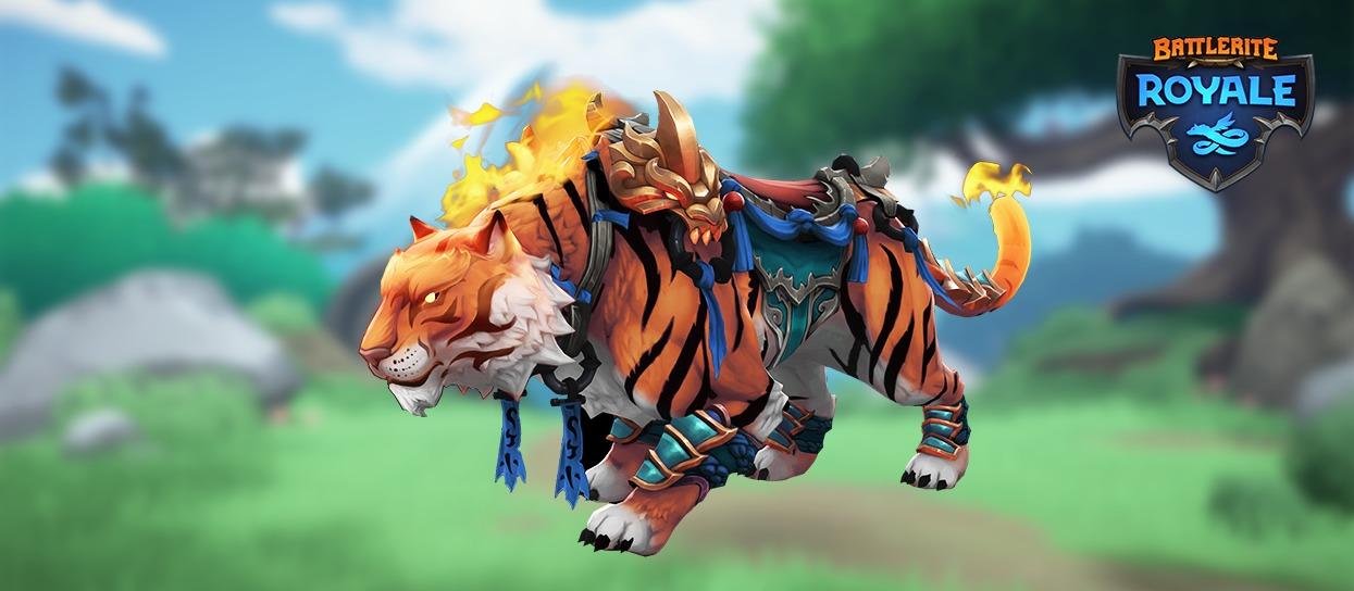 Battlerite Royale monture tigre
