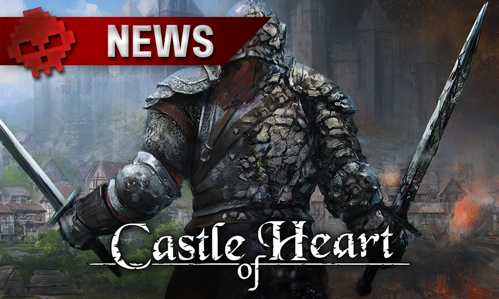 Le héros de Castle of Heart vu de dos