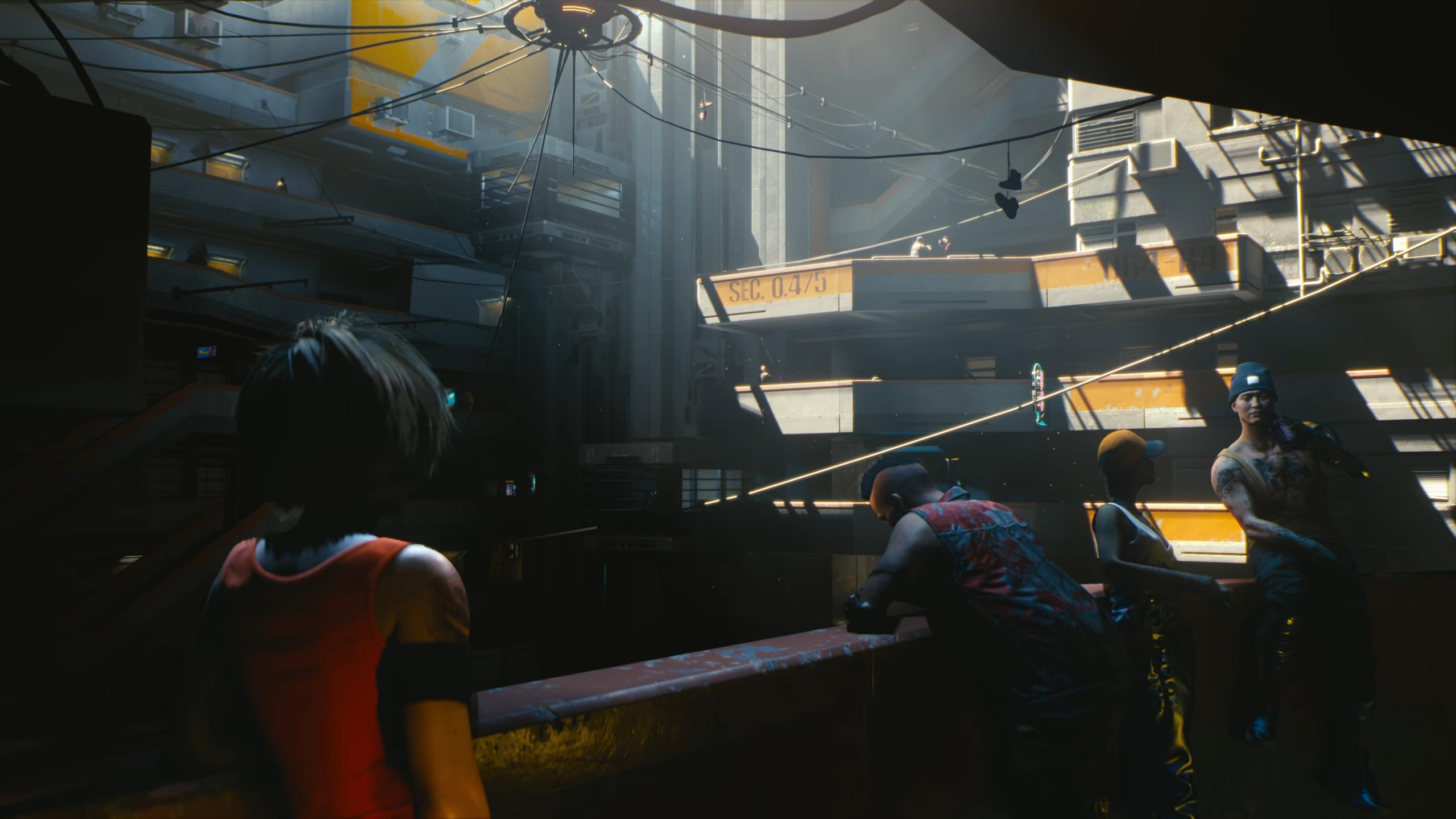 screenshot trailer Cyberpunk 2077