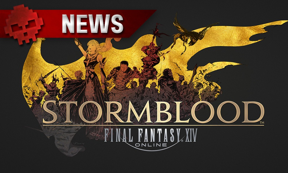 Logo de Final Fantasy XIV Stormblood