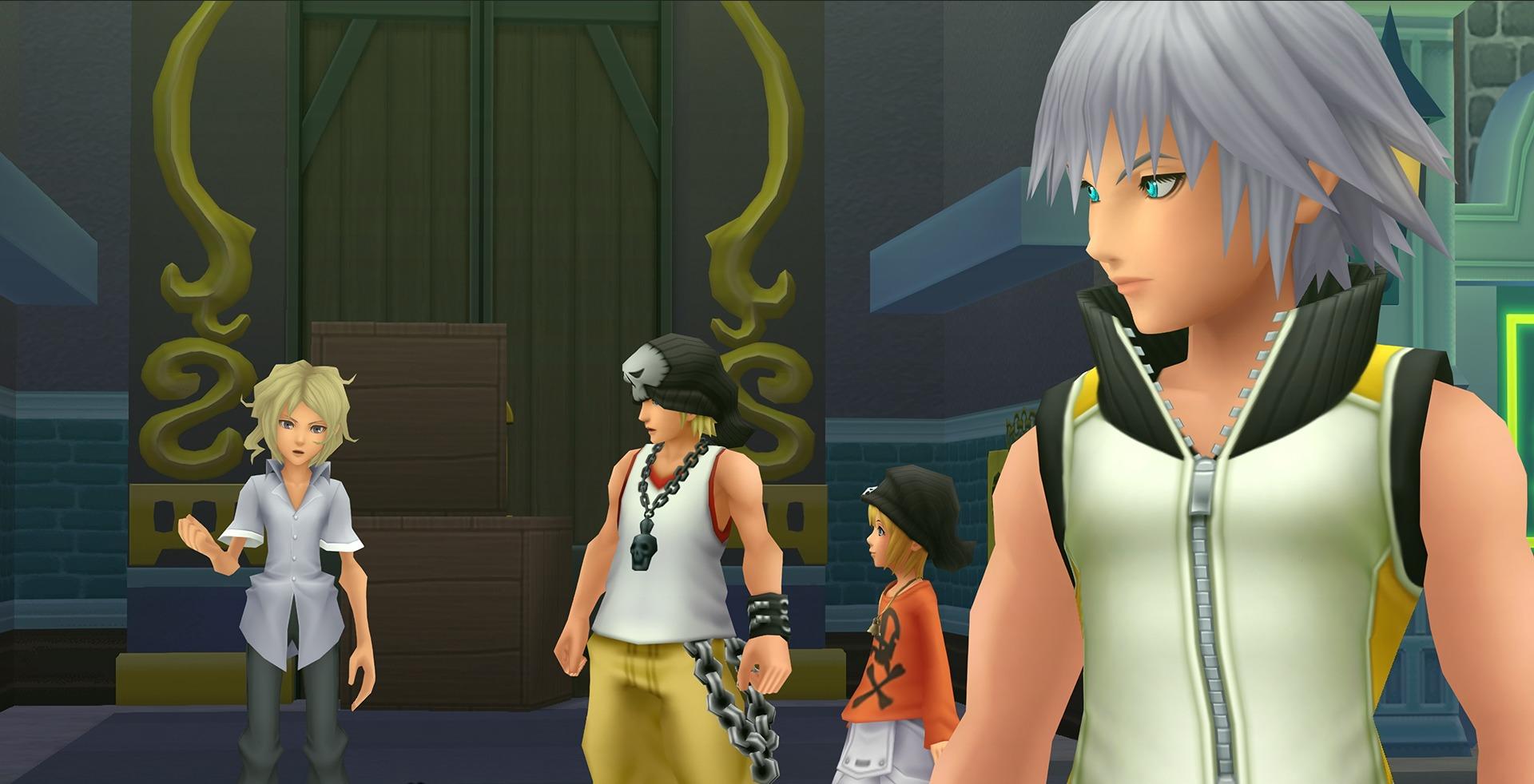 Riku & des personnages de World Ends With You