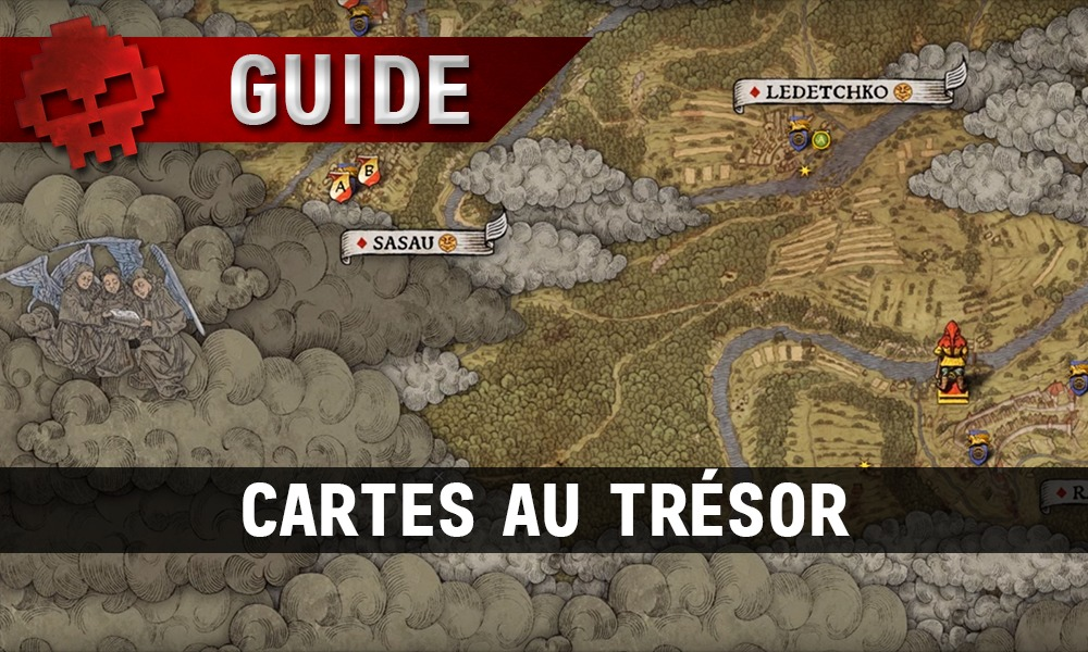 Guide Kingdom Come Cartes aux Trésors