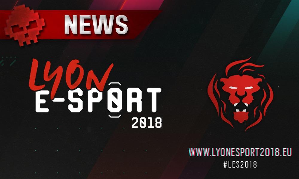 Logo Lyon e-sport 2018