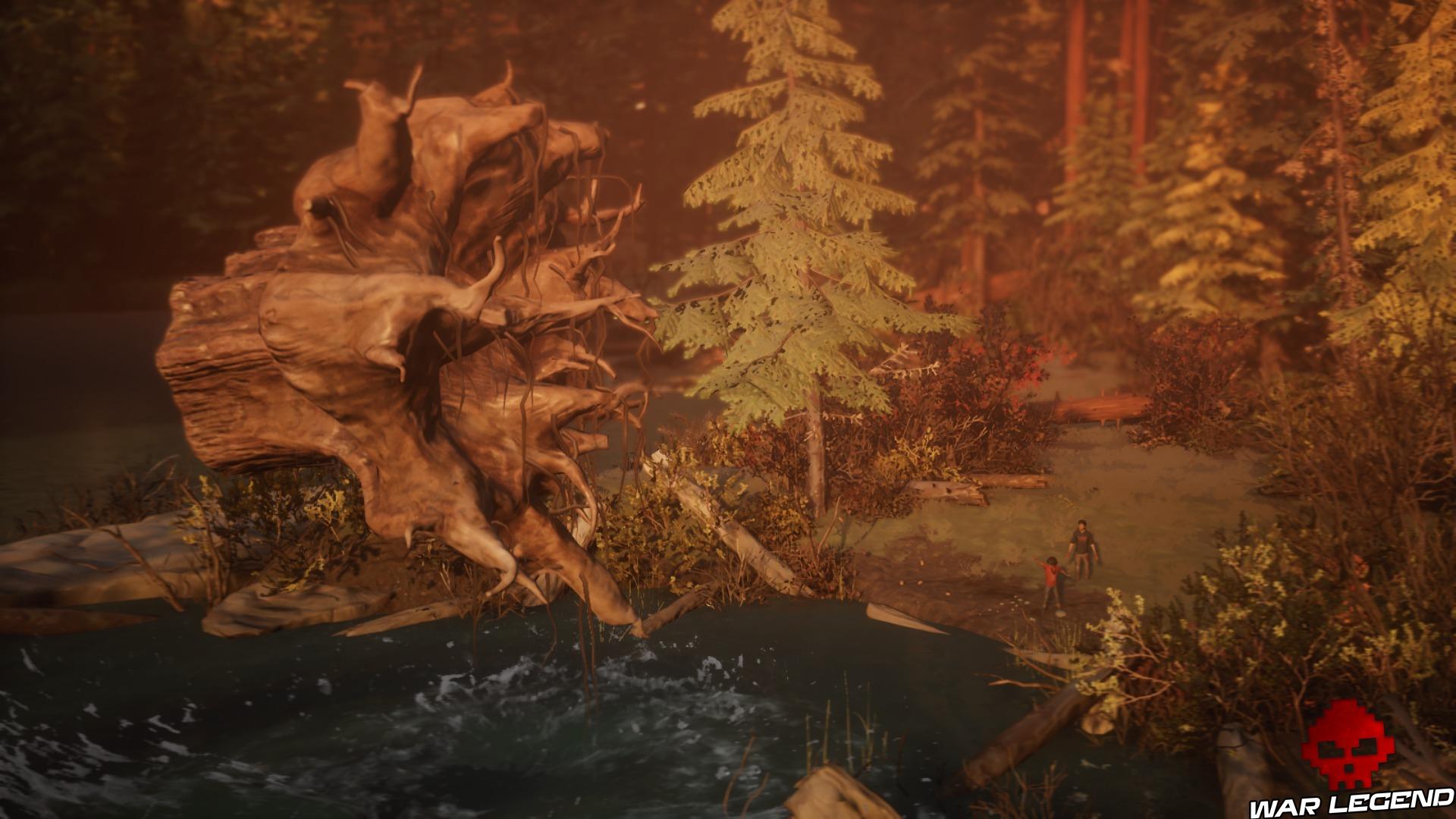 Life Is Strange 2 Screenshot Daniel faisant n'importe quoi avec son pouvoir