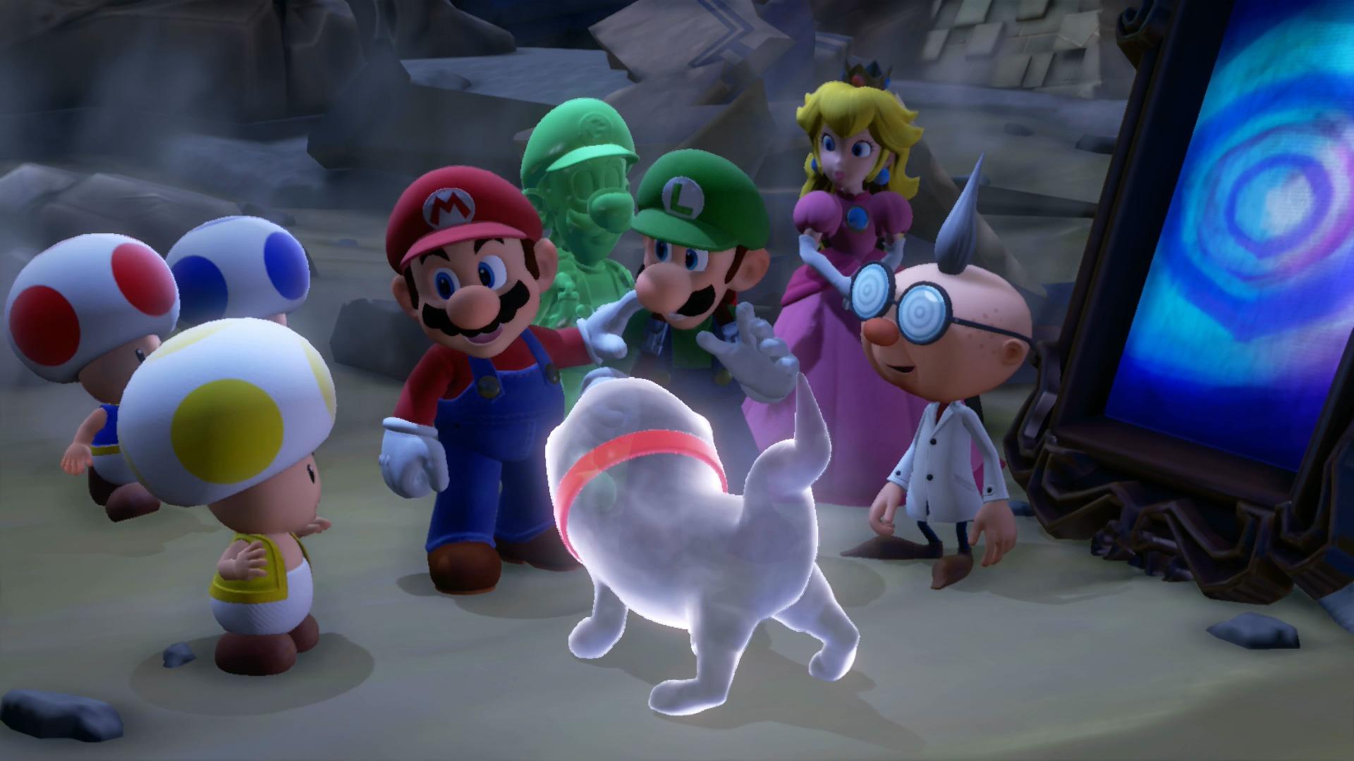 Luigi's Mansion 3 - luigi et mario et leurs amis