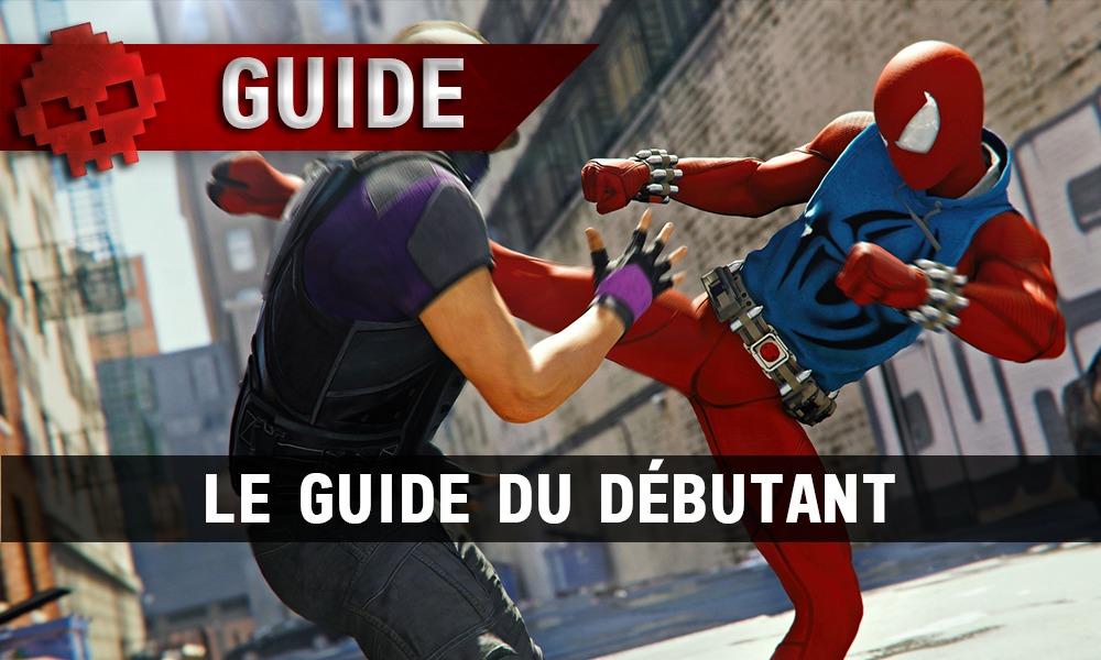 Spider-Man tabasse un méchant