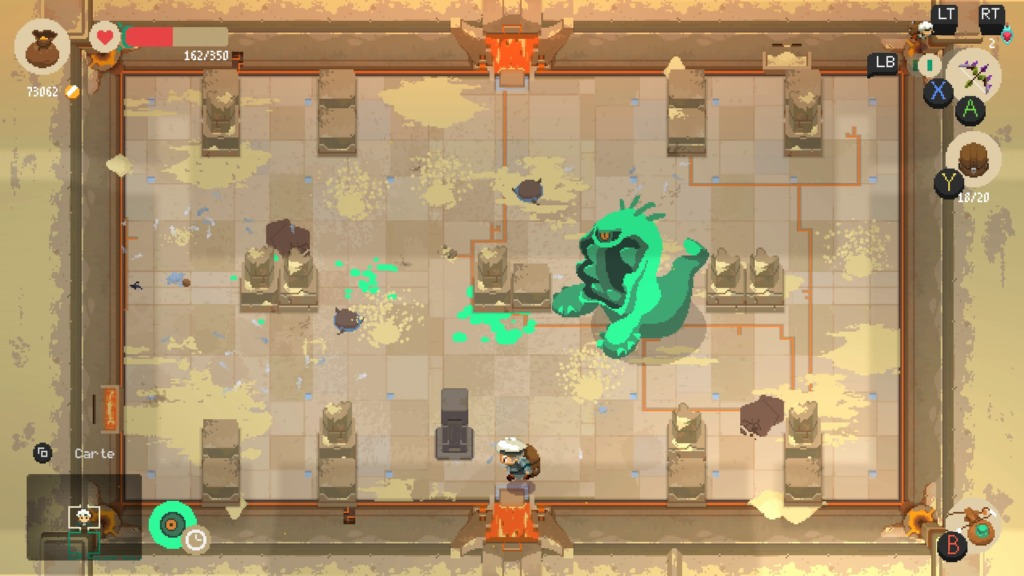 Moonlighter - Le monstre horrible