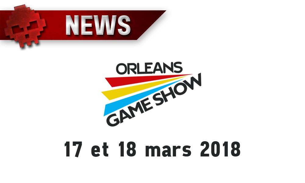Logo Orléans Game Show 2018