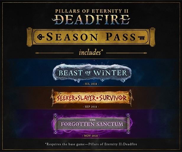 Pillars of Eternity II season pass