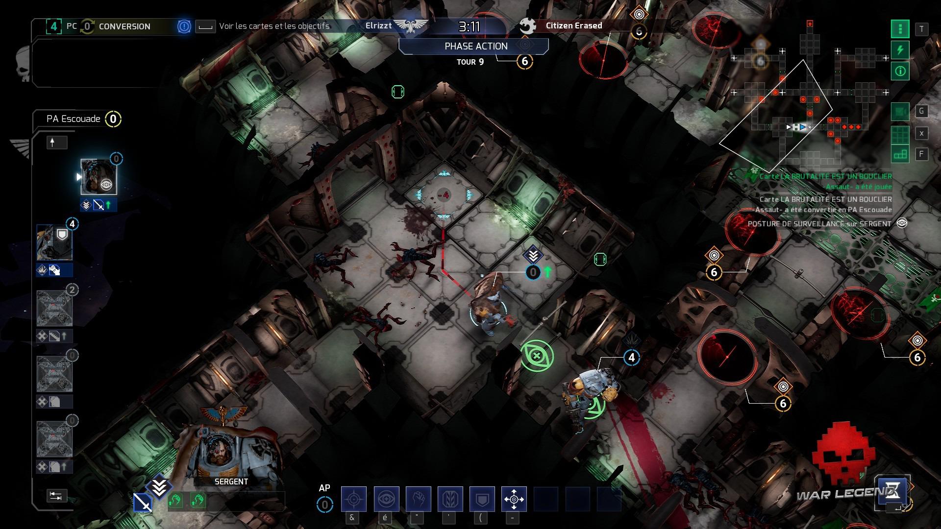 Space Hulk: Tactics un combat mal engagé