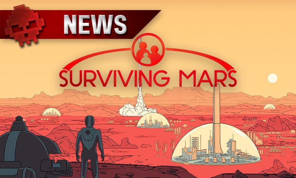 Surviving Mars - Des colonies sur la planète Mars