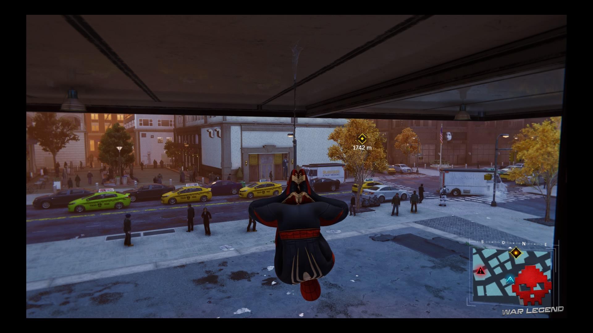 Spider-Man se suspend