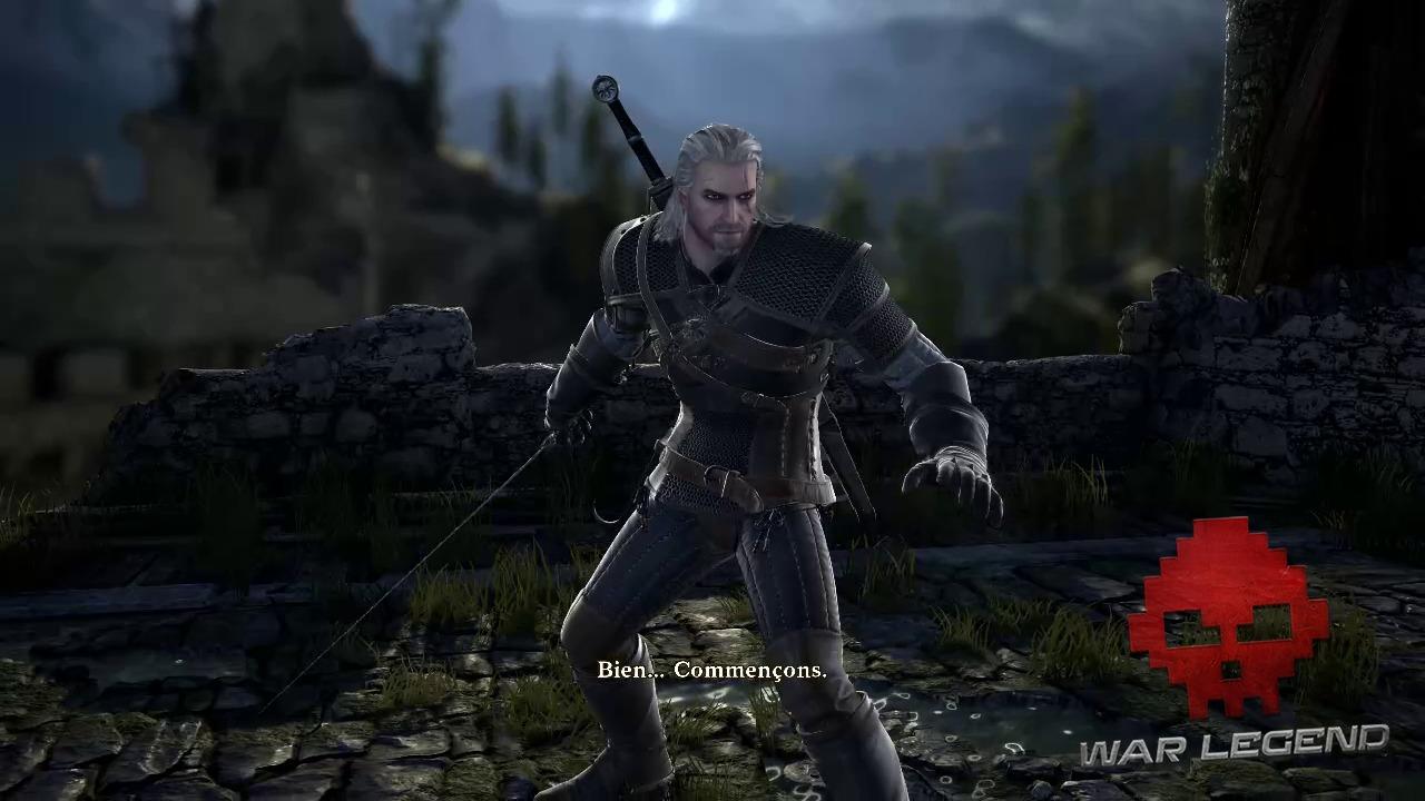 Test SoulCalibur 6 Geralt de Riv