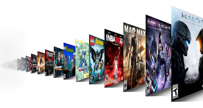 exemples de jeux du Xbox Game Pass