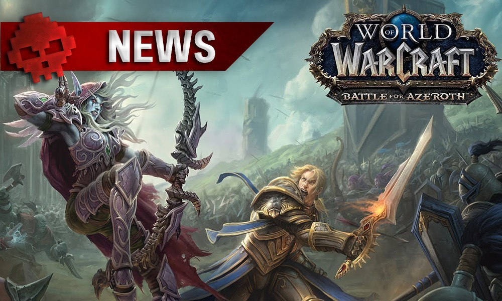 Vignette news World of Warcraft Battle for Azeroth, Anduin vs Sylvanas