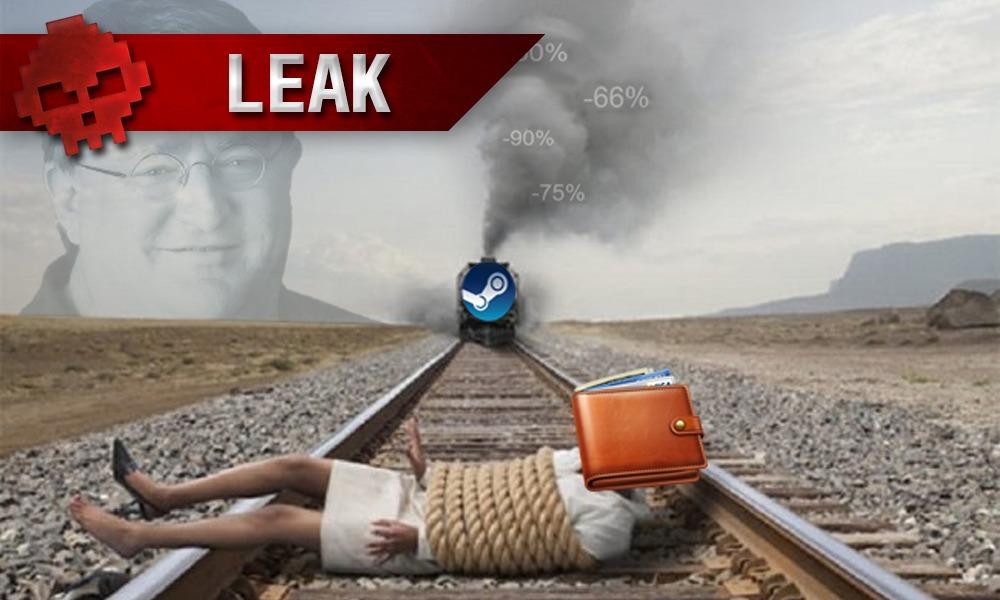 fuite soldes steam