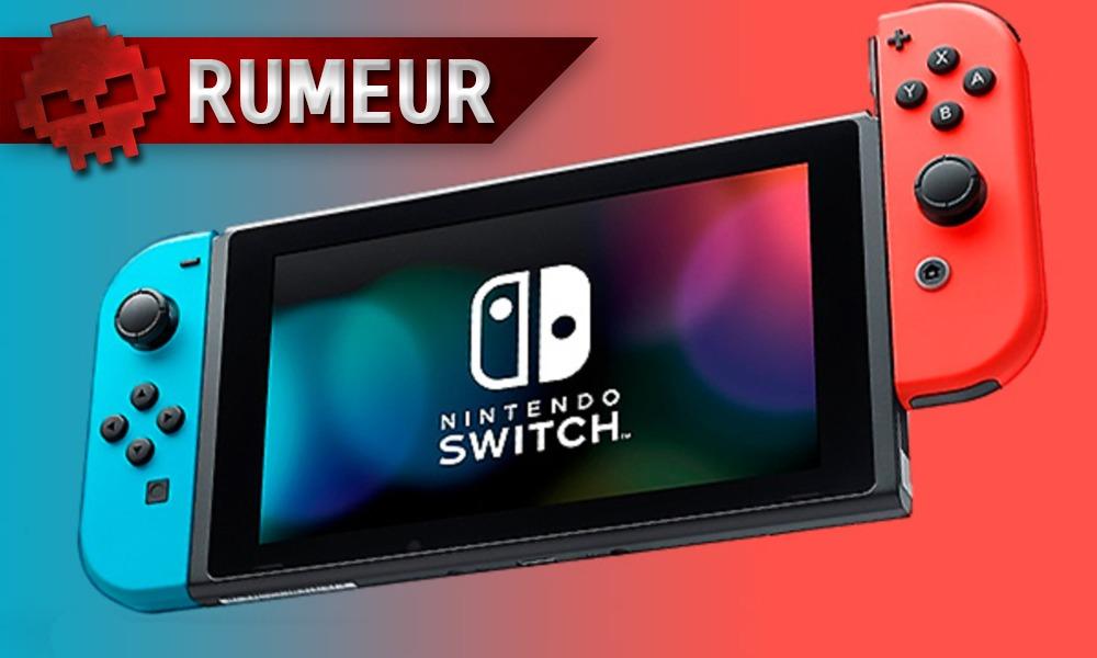 vignette rumeur Nintendo Switch