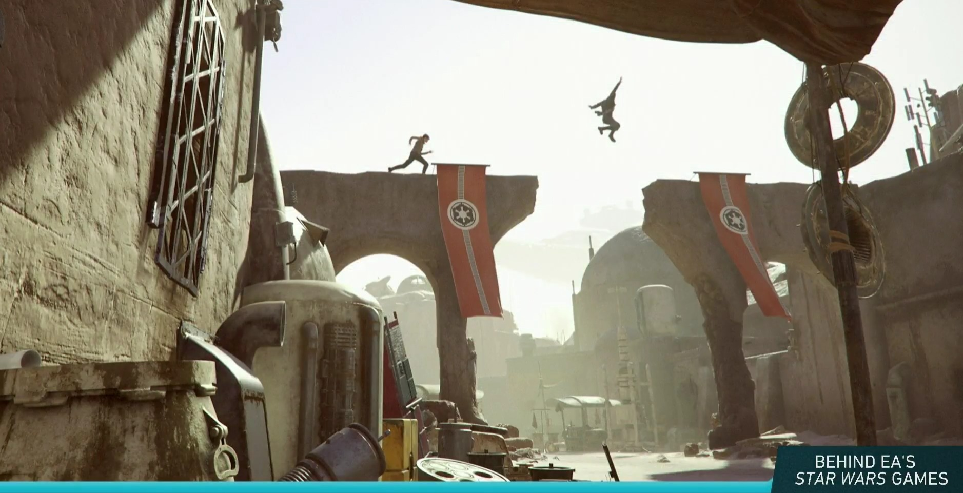 Parcours sur Tatooine