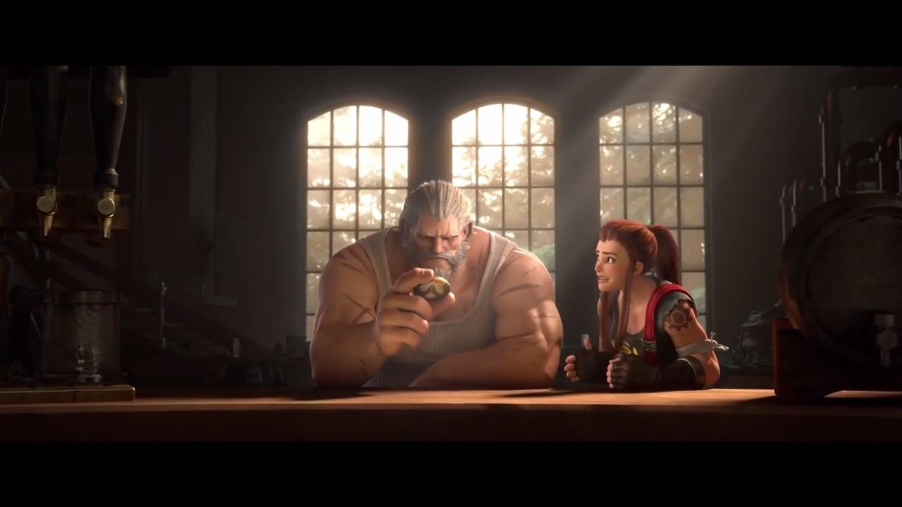Blizzard dévoile Brigitte, la nouvelle héroïne soutien du jeu — Overwatch