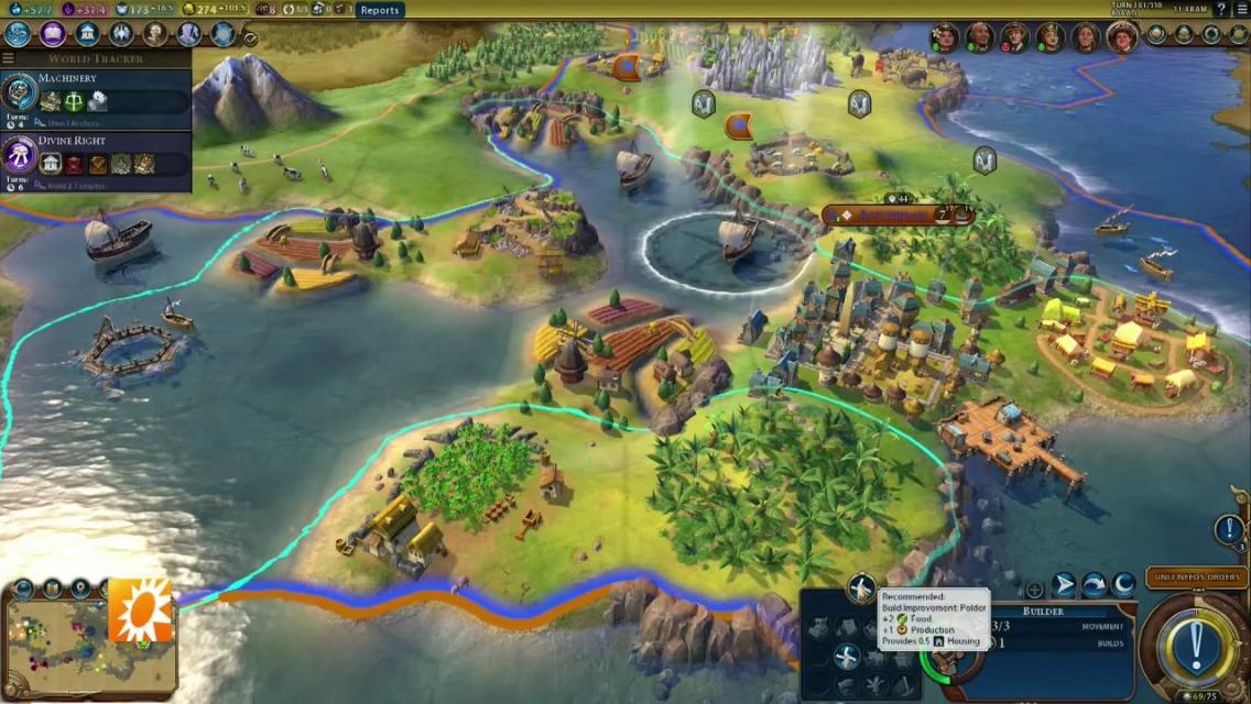 screenshot de la civilisation hollandaise dans rise and fall