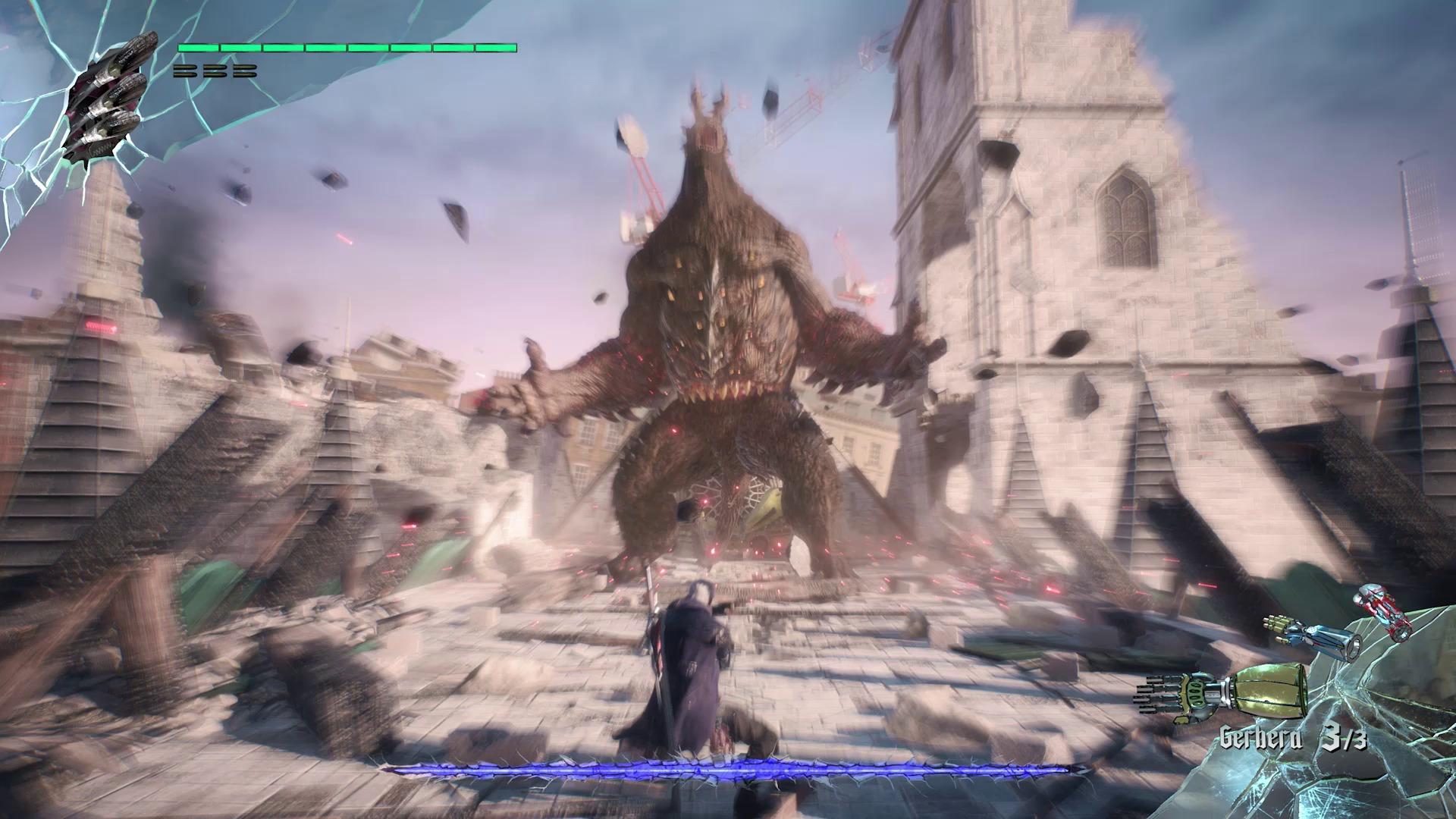 Le Goliath s'époumonne vers le ciel