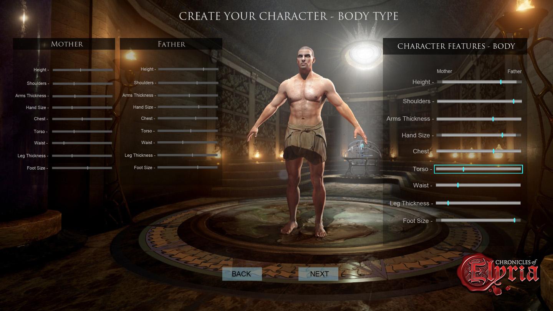 La création de personnages