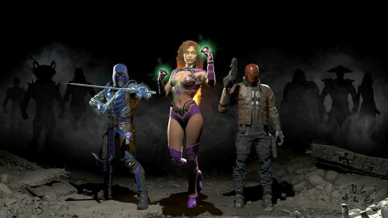 Injustice 2 - 3 héros de face