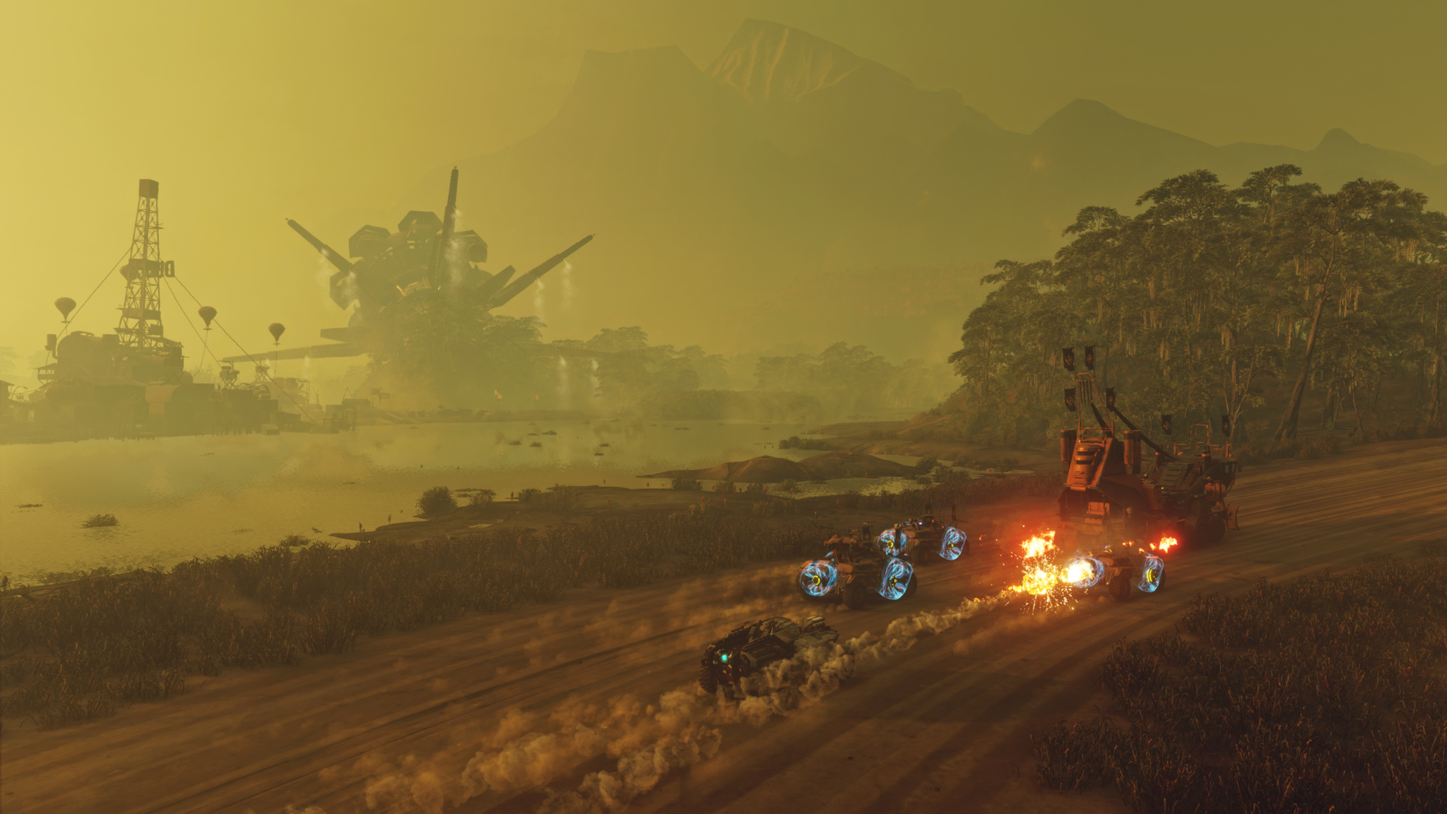 Screenshot Aperçu Rage 2 - Une attaque de convoi