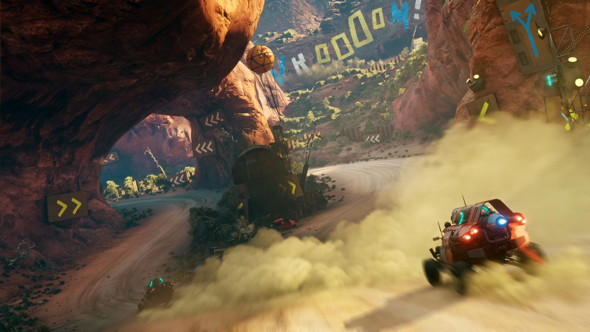 Screenshot Aperçu Rage 2 - Course de voiture