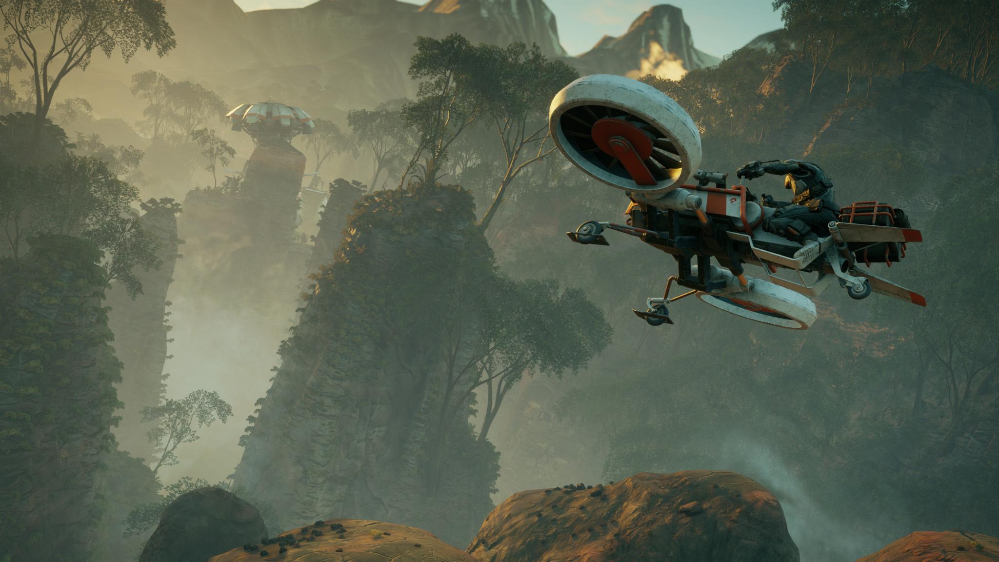 Screenshot Aperçu Rage 2 - Vol en Icarus