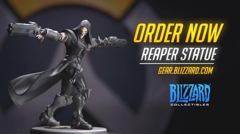 Overwatch - Une statuette Reaper collector sera bientôt disponible