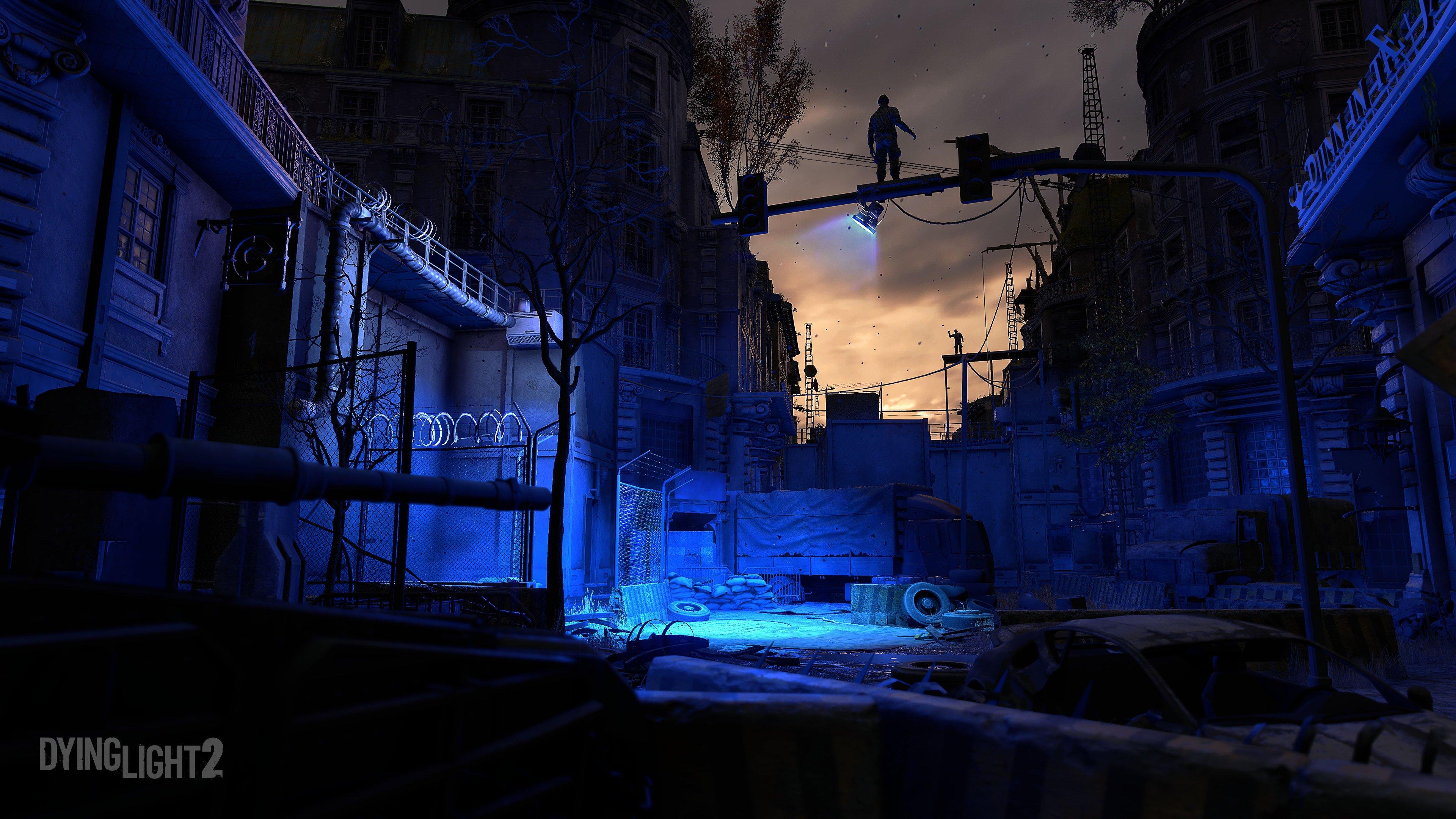 Dying Light 2 nuit bleutée