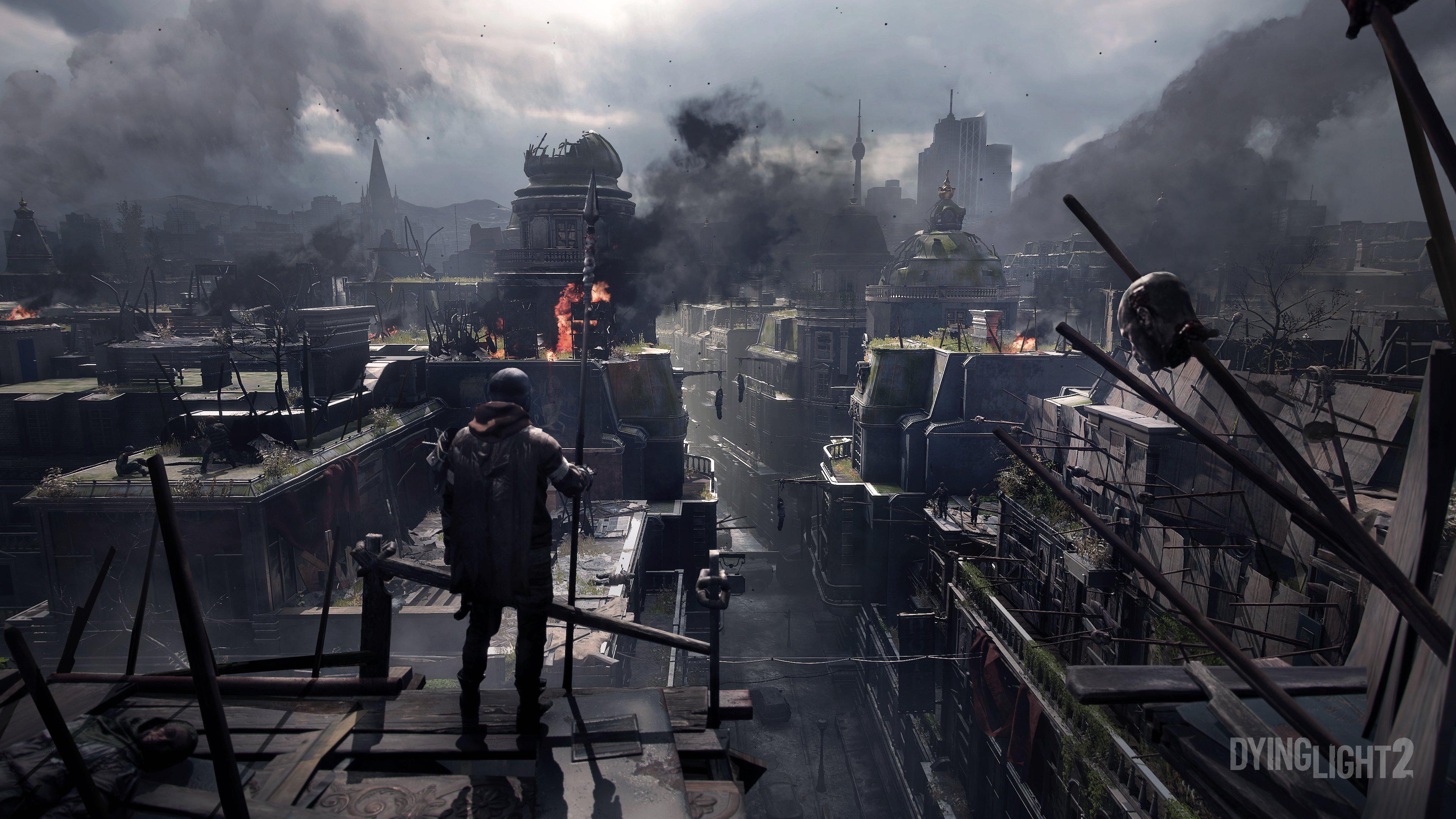 Dying Light 2 ville dominée par les bandits