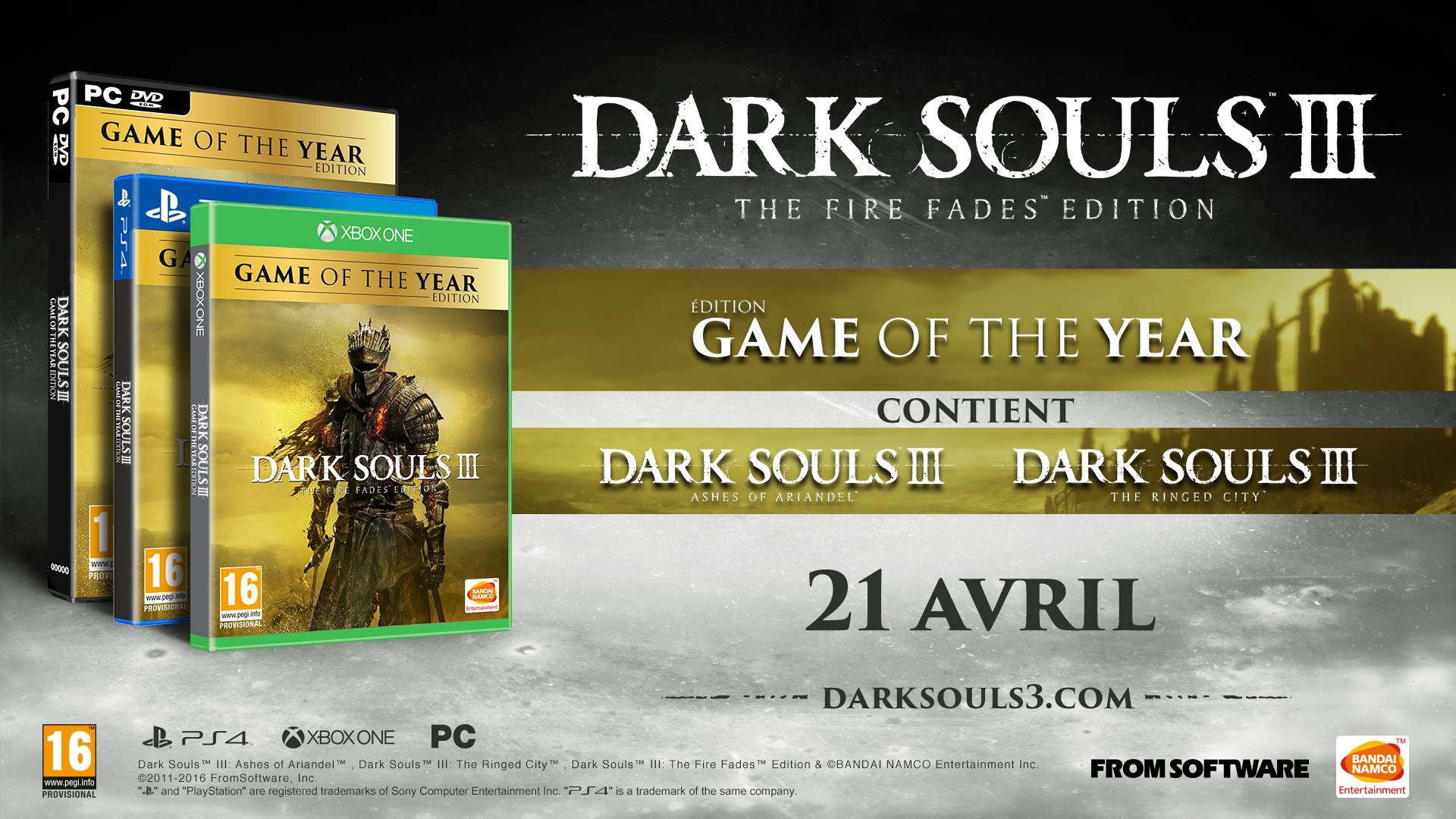 Dark Souls III The Fire Fades