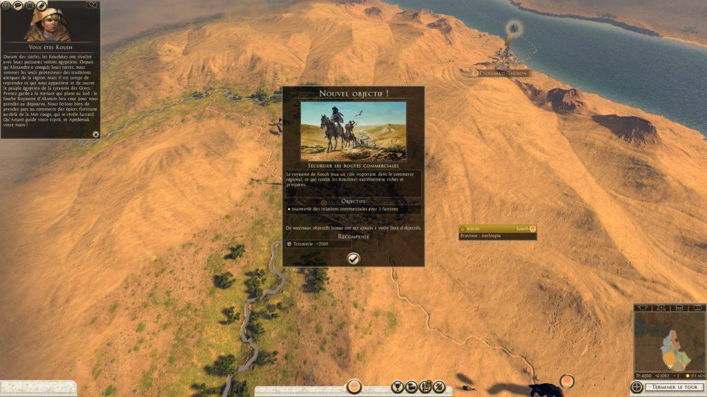 Territoire Kouch en Egypte