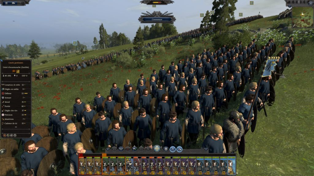 Une armée très basique de Thrones of Britannia