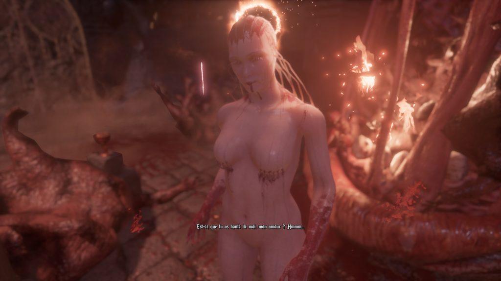 La déesse rouge d'Agony
