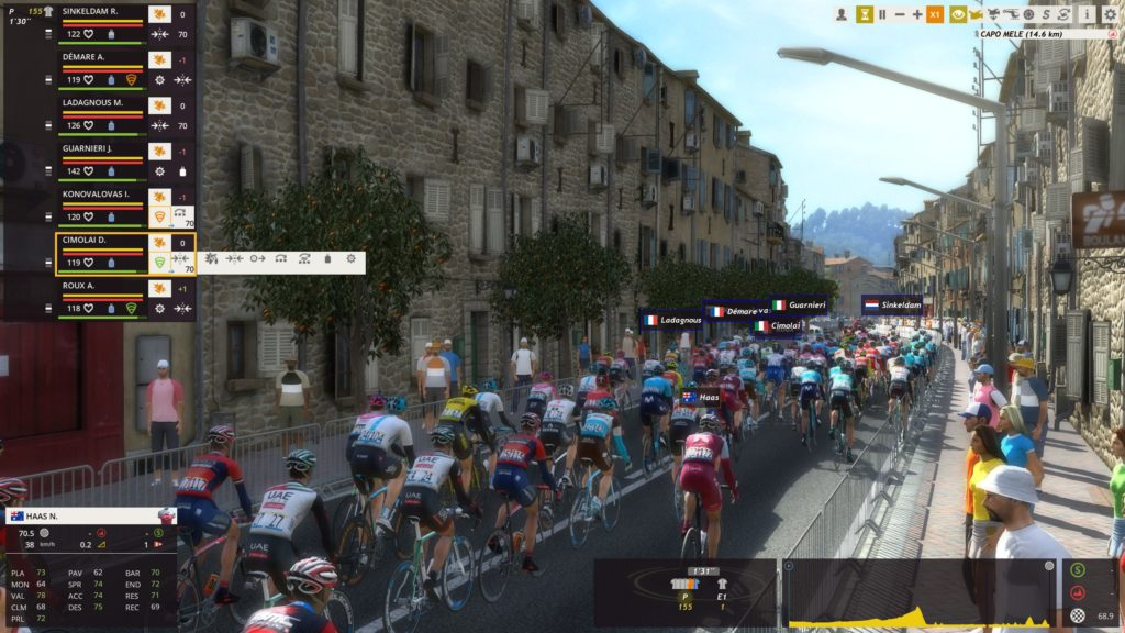 Milan San Remo sur pro Cycling Manager 2018
