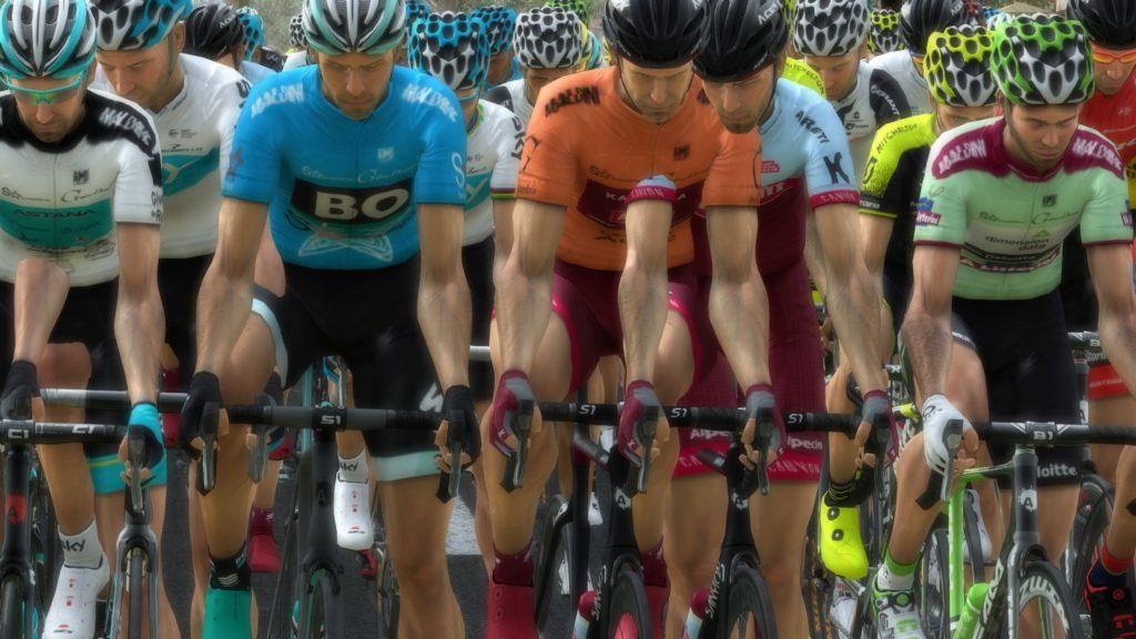 la physique limitée de Pro Cycling Manager 2018