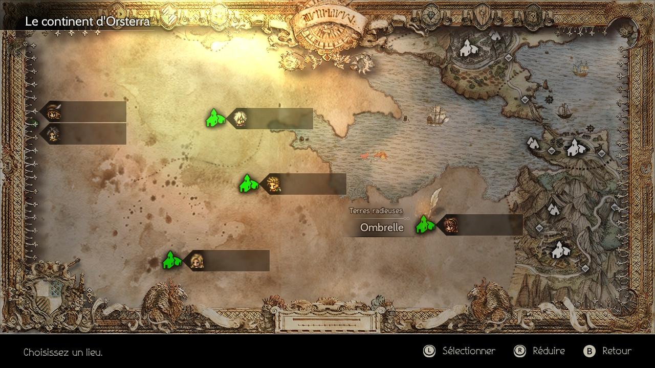 screenshot carte du monde