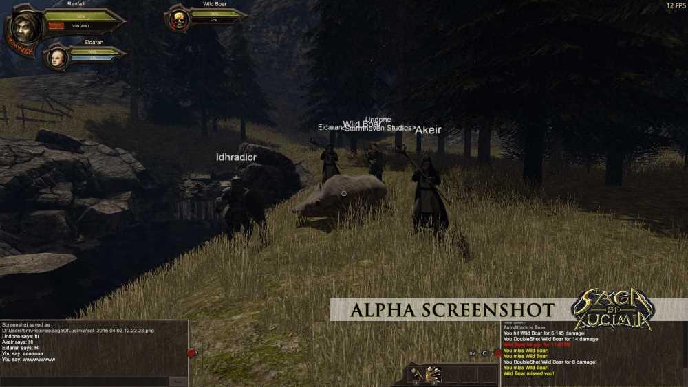 Un aperçu de l'interface du jeu