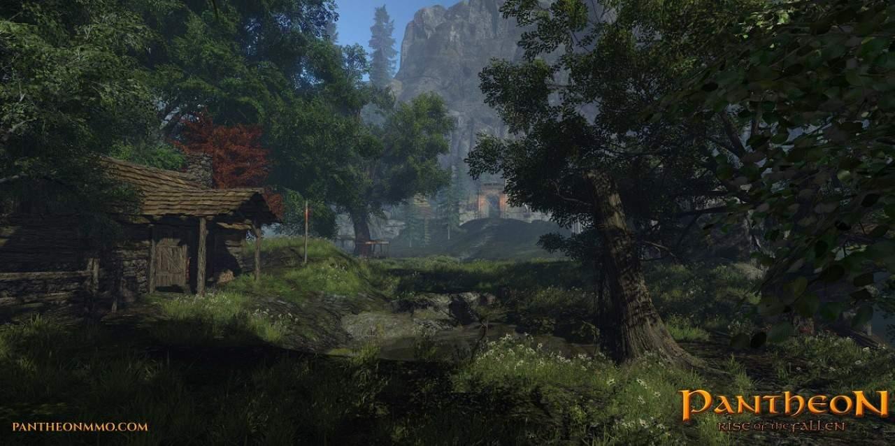 une cabane dans les bois