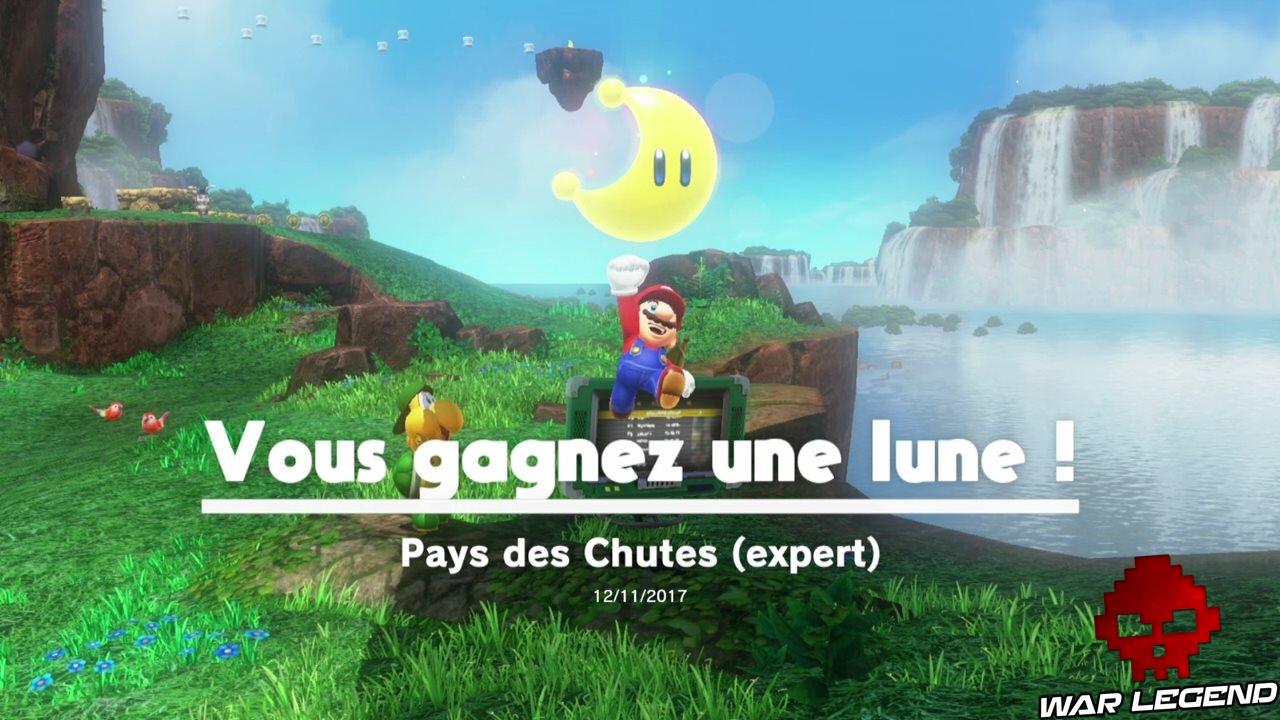 Soluce Super Mario Odyssey - Les Lunes - Pays des Chutes
